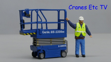 NZG Genie GS-1330m by Cranes Etc TV