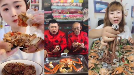 爱美食,吃货直播螃蟹, 胃口不小啊,第228节