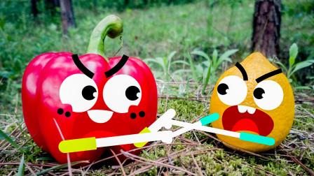 会说话的草莓拒绝被人食用会说话的桃子为何被人抛弃在野外奇趣爆笑动画