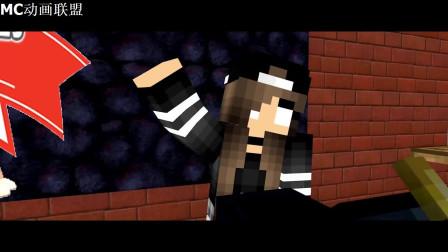 我的世界动画-怪物学院-卡哇伊女生挑战-MicroftHunter
