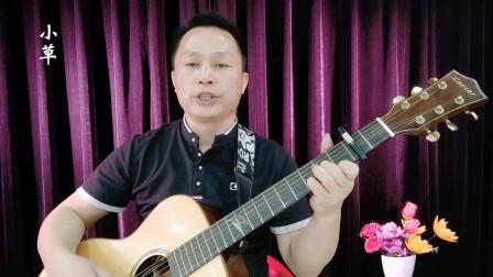《小草》吉他学习视频