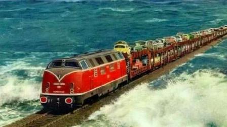 海南的海上火车,是如何经过大海的,看完佩服中国工程师的脑洞!