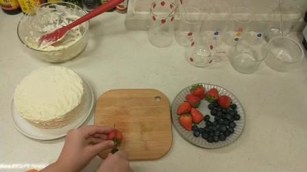 如何制作草莓蛋糕?