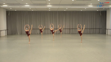 上海歌舞团2020考核,中间c位的脚是不是没到位?前排的两个抢眼