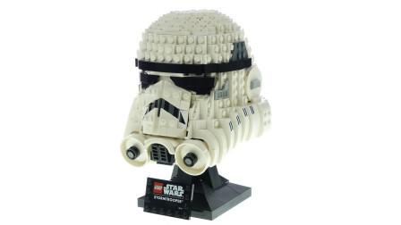 乐高星球大战Star Wars系列75276 冲锋队员暴风兵头盔积木