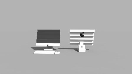 迷你世界的光影好真实,做一台超级简单的苹果台式一体机