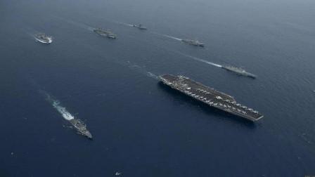 几十万大军进入战备,美国却突然改口不想开战,大批战舰原路返回