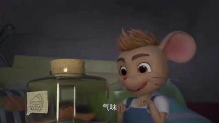 舒克贝塔:贝塔听见了功夫大师李小龙的声音,有模有样的学了起来