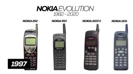 诺基亚家族19822020年诺基亚手机的演变