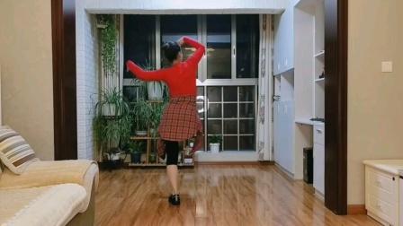 李夏辉编舞《我的九寨》雅安飘飘口令分解第三部分
