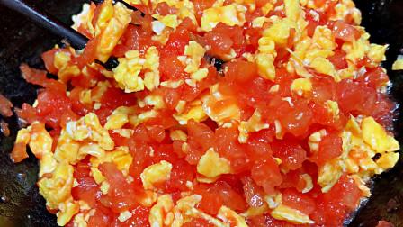 西红柿鸡蛋馅饺子,调馅步骤有诀窍,个个鲜嫩多汁不露馅,真好吃