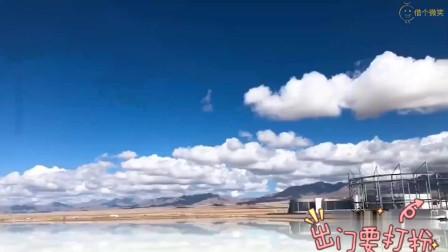 海西蒙古族藏族自治州,茶卡盐湖观景点