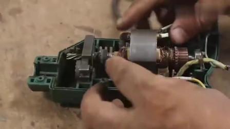 牛人就是牛人,把废旧的手电钻改造成风力发电机,简直太厉害了
