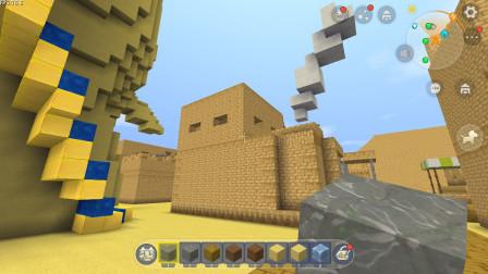 迷你世界:到了沙漠之舟 寻找隐藏的木乃伊
