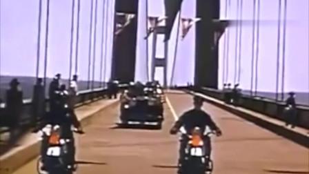 """大桥就像""""面条""""一样抖动,实录塔科马海峡大桥共振坍塌事故!"""