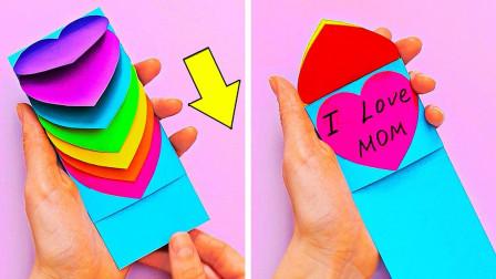 24个可爱的母亲节贺卡创意