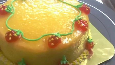 母亲节蛋糕 韩式裱花 西点烘焙 玫瑰裱花