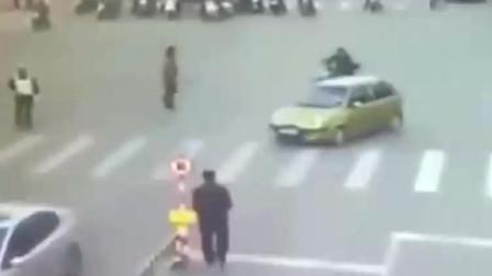 广东这场车祸,交警都看不懂,监控拍下全过程!