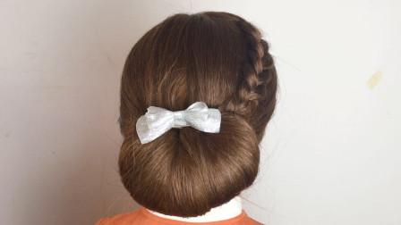 中长发的女人,这样盘发淑女有气质,尽显成熟女人味
