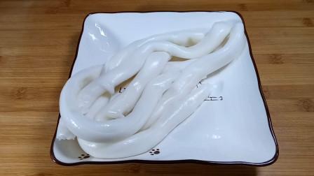 广东猪肠粉的新吃法,很多人不知道,现在教你做法,太好吃了!