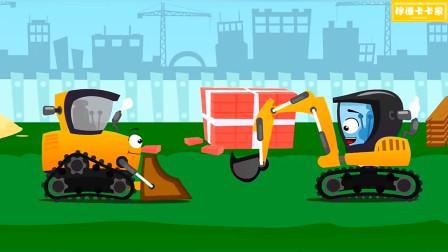 被番茄砸中的推土机这次是真的生气了!汽车总动员游戏