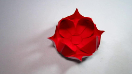 手工折纸,简单又漂亮花朵的折法,轻轻松松学会