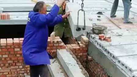 这广西老师傅真厉害,请了几个瓦工都不会安装这种楼梯!