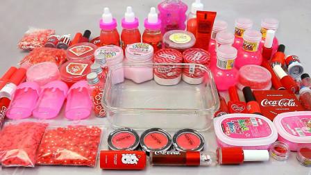 红色梦幻系列混泥,有装饰品、指甲油、眼影等等,无硼砂