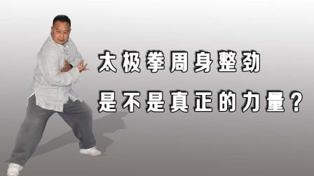 太极拳周身整劲力量,武术腰胯带动全身,掌握整劲掌握精髓