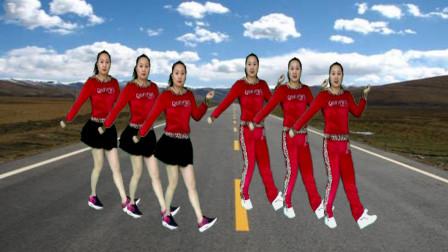 蓝莓思洁广场舞 健身鬼步舞《干就完了》网红DJ 舞步青春时尚