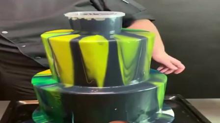 美国的西点特级厨师做蛋糕别出心裁,这样做出来的蛋糕