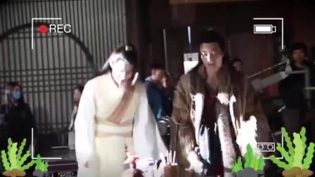 侠探简不知花絮:展十七戏里戏外判若两人,拍摄现场快乐地尬舞
