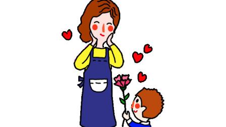 简单易学的母亲节简笔画 - 一步一步教你画