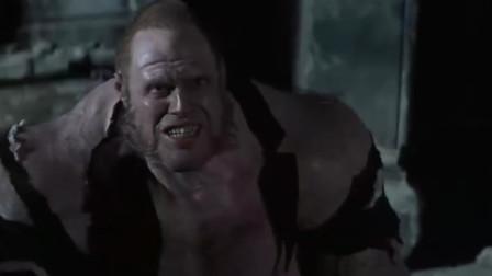 男子喝多药剂变怪物,与博士进行战斗,场面如同绿巨人对决憎恶