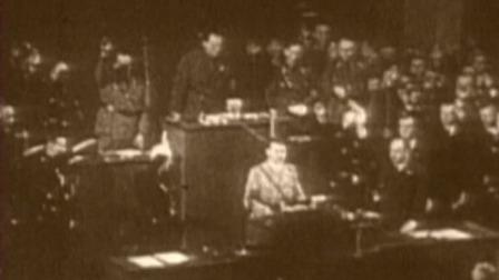 二战经典时刻 第一季 希特勒拿下波兰后提出和平谈判,却遭到英法两国的拒绝