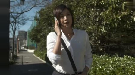 藤原纪香一身白色的衬衫,气质还是很不错的