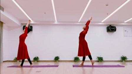 原创舞韵瑜伽《遥远的妈妈》,翻跳请注明出处