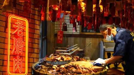 """湘菜说话走访长沙藩后老街里的大师级小店——""""大蒜炒腊肉"""""""