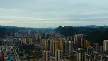 贵州瓮安县VS贵州福泉市,你更看好哪个?航拍一下全清楚了