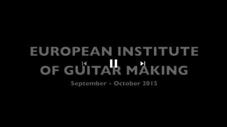 参加2015年西班牙吉他制作课程留念
