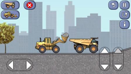 工程车工作视频工程卡车游戏12