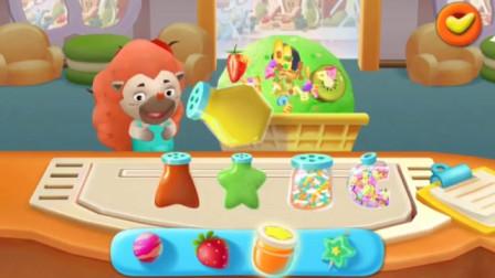 【佑宝】哈密瓜冰淇淋真好吃呀!!宝宝巴士游戏