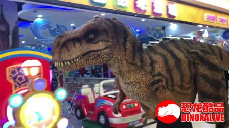 商场恐龙秀 - 恐龙商展扮演道具