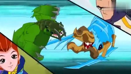 兽王争锋泰羽和杉珊合力,对付强大的对手,可惜实力有限