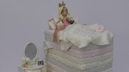 超美腻的豌豆公主,原来是牛人用翻糖蛋糕做的!你知道她叫什么吗