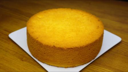 这个配方做的戚风蛋糕,不回缩不塌陷随便捏,香甜细腻超好吃