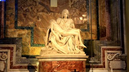 梵蒂冈圣彼得大教堂最惹人瞩目的三件艺术珍品