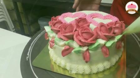 最近超级喜欢法式西点 蛋糕裱花