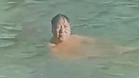 毛主席长江黄河的赤诚之心