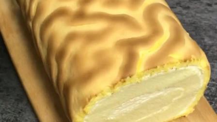 虎皮蛋糕卷制作教程!
